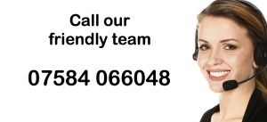 call our friendly team without delay