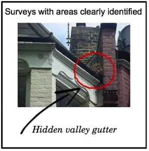 surveys with areas clearly identified